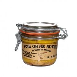 Bocal foie gras entier de canard de 130g