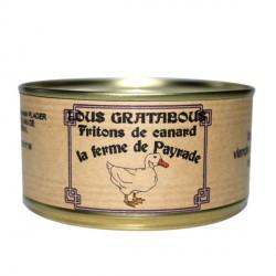 """Gratabous"" fritons de canard"