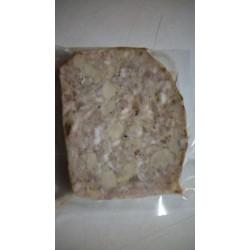 Pâté au foie gras cuit au four