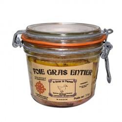 Bocal de foie gras entier de canard de 315g