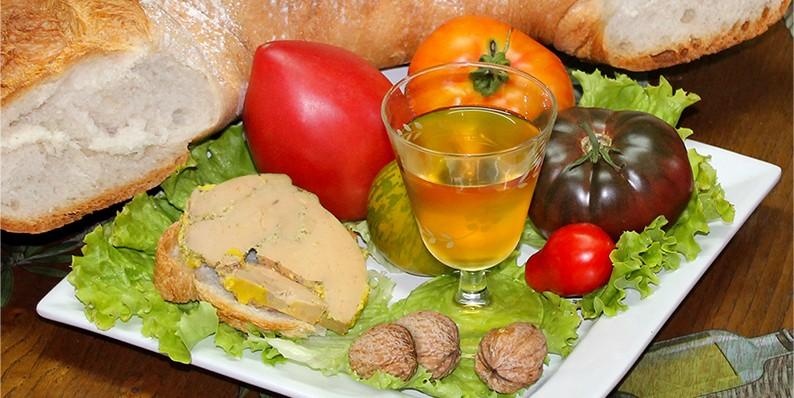 Composition foie gras